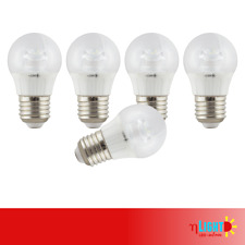 5er Pack etaLight LED Birne BASIC E27, 5 Watt, 400 Lumen, 3000 Kelvin, klar