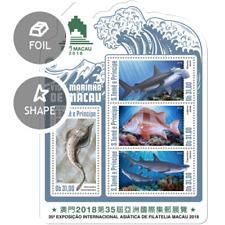 Sao Tome  2018  Marine life of Macau fish