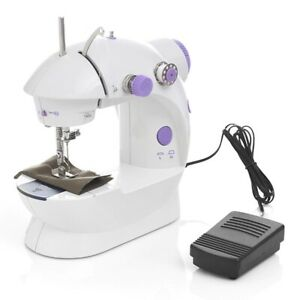 Sewing Machine Mini Electric Household Night Light Foot Pedal Straight Line Hand