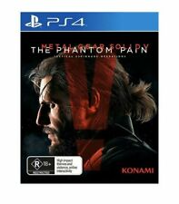Metal Gear Solid V The Phantom Pain PlayStation 4 Aus Game
