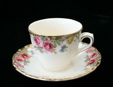 Vintage Royal Doulton English Rose Cup and Saucer