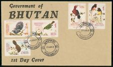 Mayfairstamps Bhutan 1969 Airmails Birds First Day Cover wwf93585
