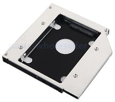 2nd SATA Hard Drive HDD SSD Caddy for ASUS N50V G50V G55VW-RS71 Swap GT51N DVD
