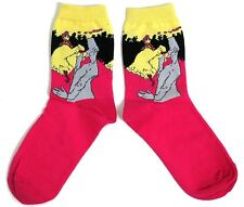 LADIES TOULOUSE- LAUTREC MOULIN ROUGE LA GOULUE CAN CAN SOCKS ONE SIZE FITS ALL