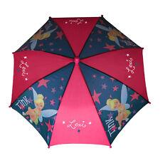 Disney TINKERBELL UMBRELLA Pink Personalized Free