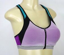 NWT Victoria's Secret VSX Knockout Wireless Front-Close Sport Bra 34C AA300A
