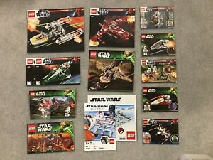 Lego Star Wars Instructions Bundle Excellent condition for twelve sets