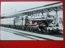 PHOTO  GWR 7029 CLUN CASTLE AT WORCESTER 20/7/85 - BIRMINGHAM RAILWAY MUSEUM RAI
