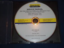 New Holland T8.320 T8.350 T8.380 T8.410 T8.435 Tractor Service Repair Manual Cd