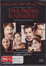YOUR FRIENDS AND NEIGHBOURS - BEN STILLER - JASON PATRIC - DVD - NEW