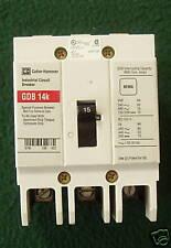 Cutler-Hammer Circuit Breaker, 15 A, 3-Pole, GDB3015D
