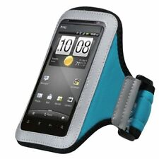 Blue Sport Armband Case Pouch For HTC First/Hero4g/myTouch4gSlide/Incredible 2