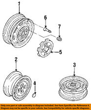 NISSAN OEM 85-86 Maxima Wheel/Front Suspension-Wheel Nut 40224R4670
