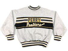 Vintage Varsity Spirit Fashion Perry Panthers Ohio School Cheerleader Sweater