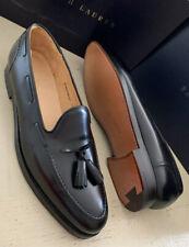 New $1350 Ralph Lauren Crockett&Jones Men Cordovan Loafers Shoes Black 11 US Eng