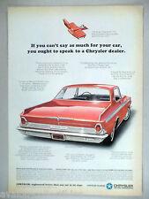Chrysler 300 2-Door Hardtop PRINT AD - 1964