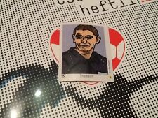#301 Craig Thomson referee Tschutti Heftli Euro 2012 football sticker Scotland