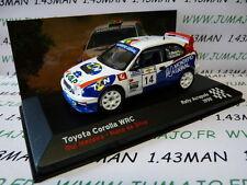 voiture 1/43 IXO altaya FRANCE Rallye Acropolis 1998 TOYOTA corolla WRC Madeira