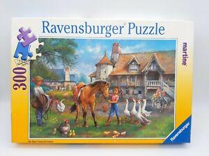 300 Pieces Puzzle - Martine - Die Reitstunde - Ravensburger - 100% Complete - A1