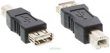 InLine® USB 2.0 Adapter, Buchse A auf Stecker B Verbindung USB Anschlüsse