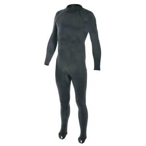 NEW XCEL Military Diver Basic Polypro Jumpsuit Black US Made MY041729-USB