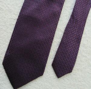 PURPLE 3.25 INCH SILK tie NECKTIE from STOCKHOLM KRAVATT