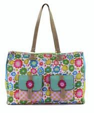 Happiness Weekender Yucatán Bolsa de lona hippie IBIZA Flores Colorido Bag