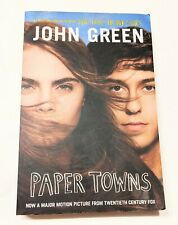 Paper Towns by John Green - Book Fiction Young Adult, paperback Free Shipping