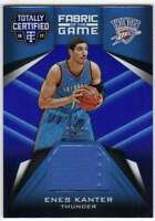 2016-17 Panini Totally Certified Fabric of the Game Blue Jersey /99 Enes Kanter