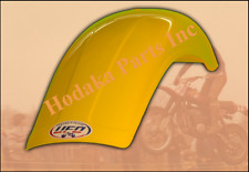 UFO Yellow Rear Fender Moto-Cross (med) 80cc-125cc-250cc (1975-1983), TM 1978-81