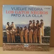 LOS GATOS NEGROS de Tiberio |  Pato a la olla | LP SEALED NEW | Brass CUMBIA