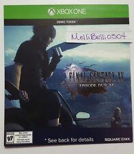 Final Fantasy XV Episode Duscae Demo Xbox One (NOT FULL GAME)