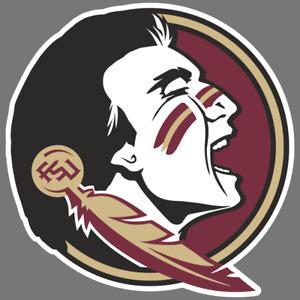Florida State Seminoles NCAA Football Vinyl Sticker Car Truck Window Decal