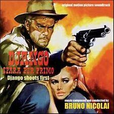 Bruno Nicolai: Django Spara Per Primo (New/Sealed CD)
