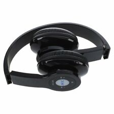 AEC Casque Bluetooth sans fil Hifi USB pliable Noir Bluetooth, TF carte lec A9J9