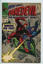 1967 MARVEL DAREDEVIL #35 TRAPSTER  INVISIBLE GIRL APPEARANCE  VF/NM 9.0  S2