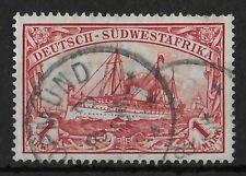 GERMAN SOUTH WEST AFRICA 1901 Used 1 M Michel #20 CV €40