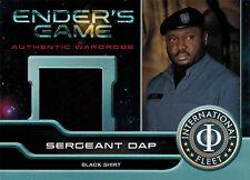 Enders Game Movie Wardrobe Card M10 Nonso Anozie as Sergeant Dap