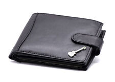 100% Leather Wallet with Les Paul Guitar Motif - Music Gift - Guitarist Gift