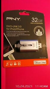 pny 32gb duo link 3.0 for ipad/iphone