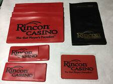 New listing Rincon Casino Valley Center Ca Empty checkbook covers, address book/ and ? items