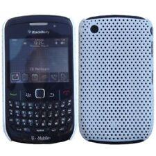 Étuis, housses et coques blancs en plastique rigide pour téléphone mobile et assistant personnel (PDA) Blackberry