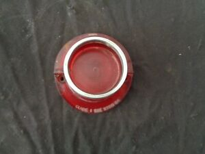 1964 Chevrolet Bel Air Biscayne Impala Outer Taillight Lens with Trim Bezel Ring