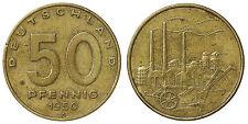 50 PFENNIG 1950 A GERMANIA GERMANY DEMOCRATIC REPUBLIC DDR #6748