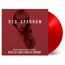 James Newton Howard - Red Sparrow Soundtrack  2LP vinyl RED NUMBERED NEW!