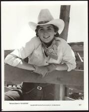 Great portrait of Melissa Gilbert w/cowboy hat in Sylvester 1985 movie photo 911