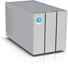 USED: LaCie 2big Thunderbolt 2 Hard drive array TB 2 bays