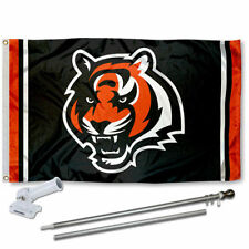 Cincinnati Bengals Flag Pole and Bracket Kit