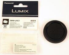 Panasonic Dmw-lrc1 Bouchon arriere D'objectif Micro 4/3 quatre Tiers