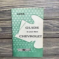 Vintage Guide To Your New Chevrolet Manual 1955
